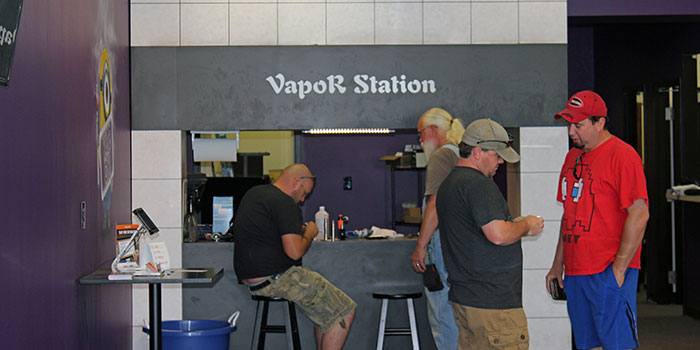 Vapor Station Building
